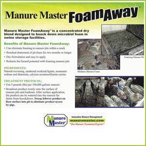 Manure Master Foam Away
